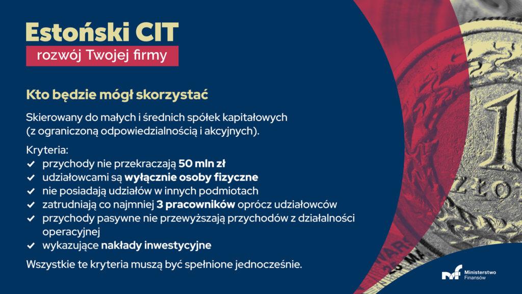estoński CIT projekt