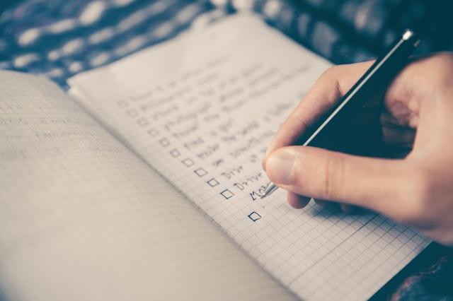planowanie dnia pracy